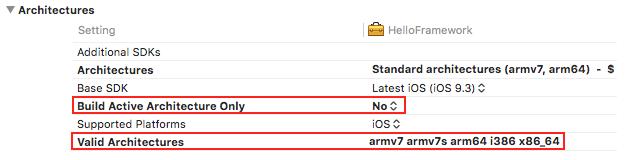 iOS Universal Framework 빌드하기 | 아이군의 블로그